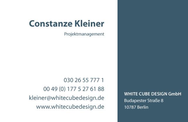 White Cube Visi Rückseite 1